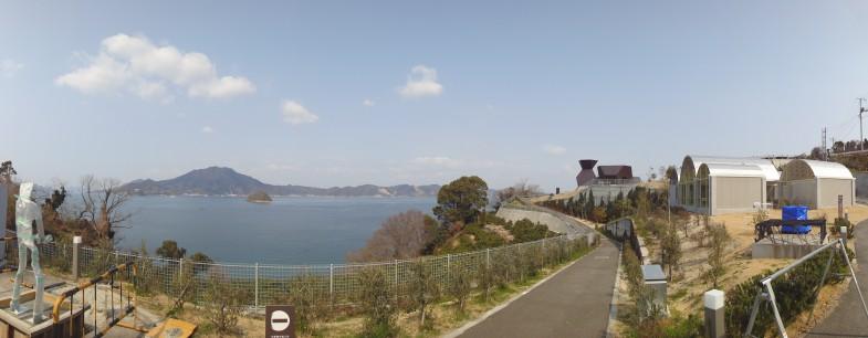 大三島は素晴らしいロケーションです。